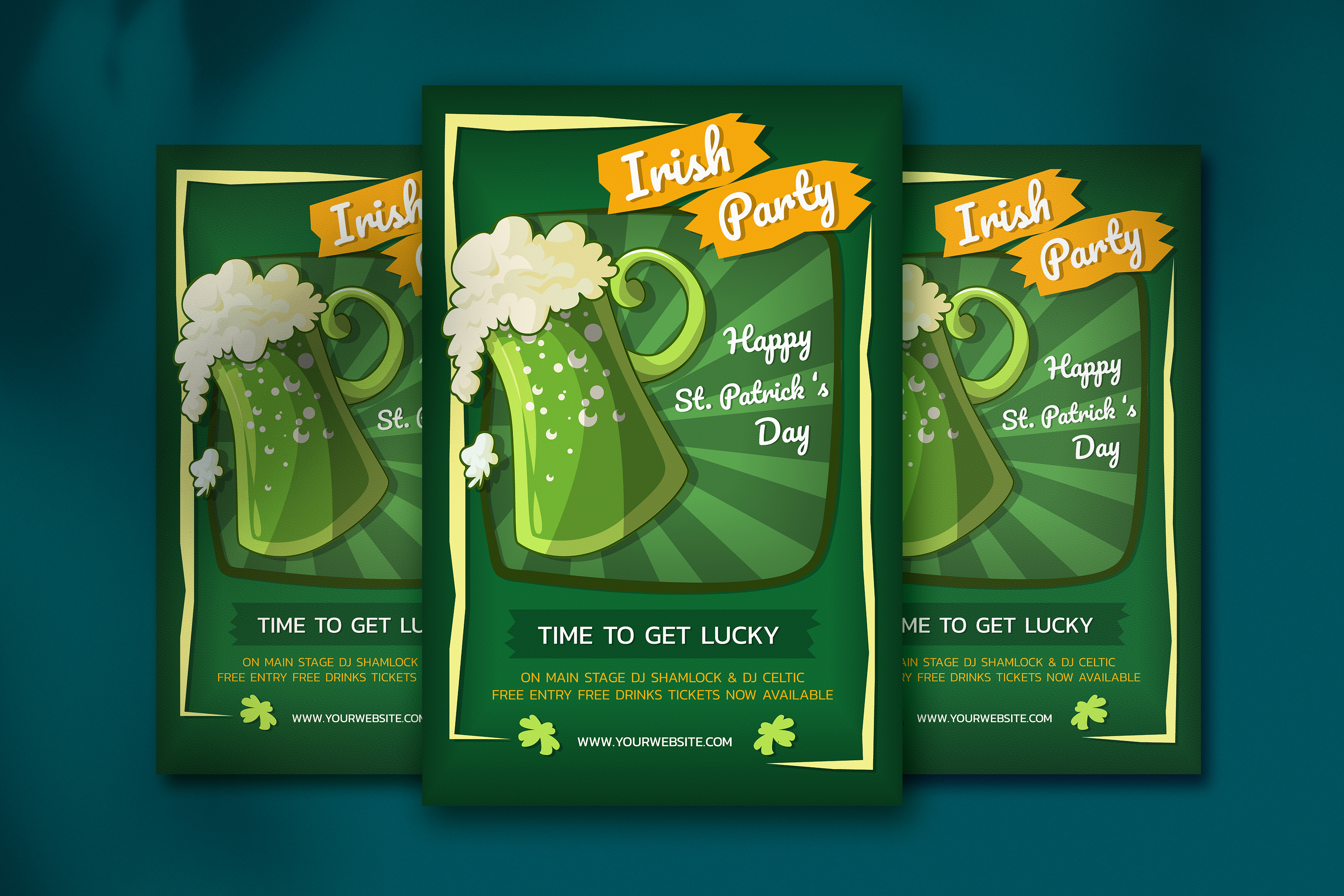 Saint Patrick S Day Poster Graphic By Jann Creative Fabrica