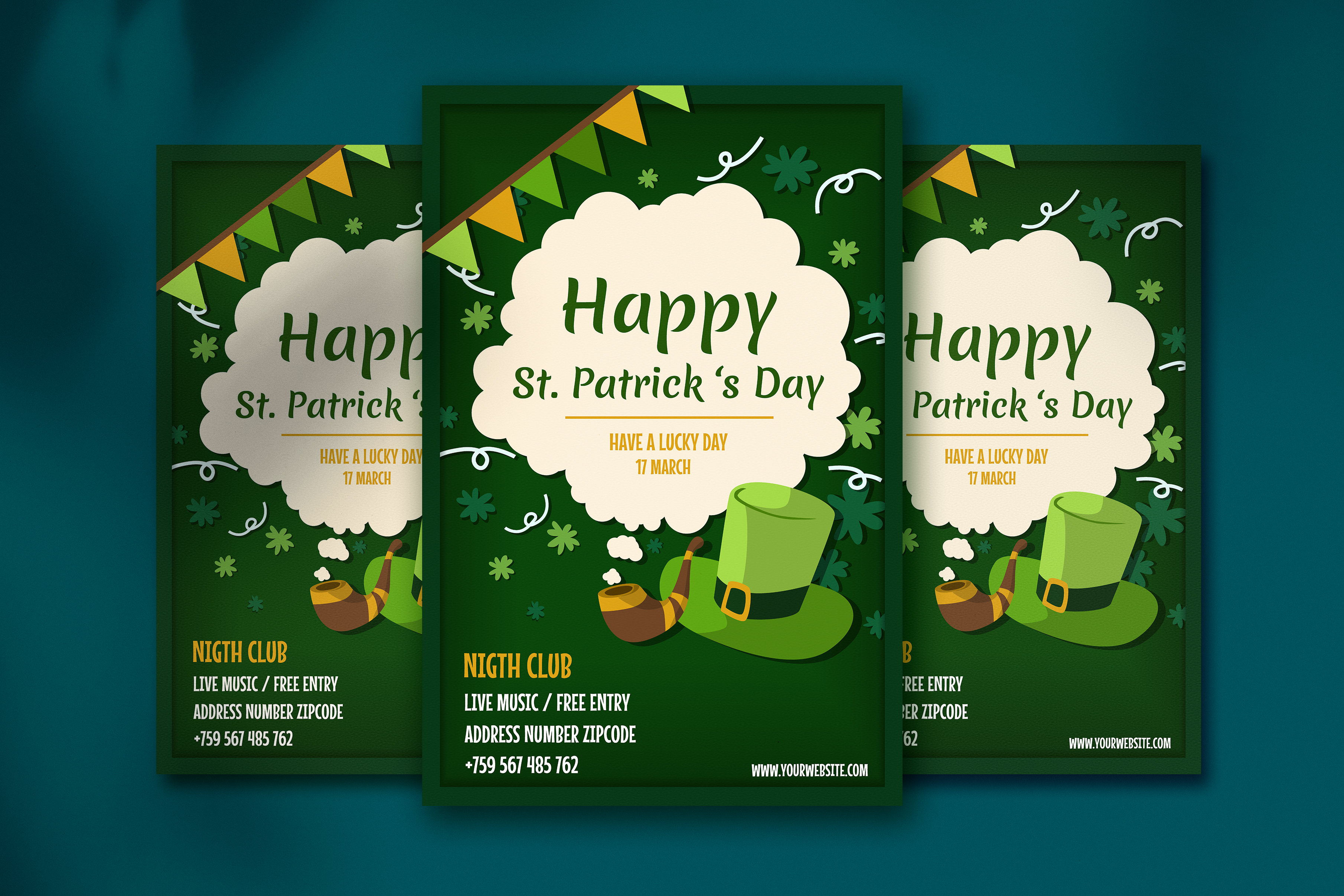 Download Free Saint Patrick S Day Poster Grafico Por Jann Creative Fabrica for Cricut Explore, Silhouette and other cutting machines.