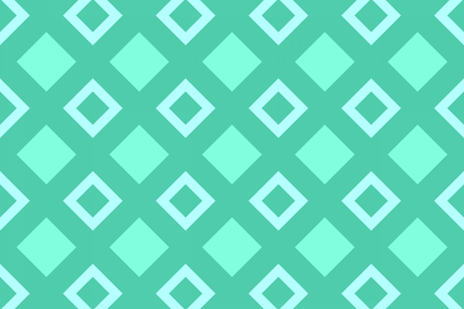 Download Free Seamless Threetone Square Pattern Graphic By Davidzydd for Cricut Explore, Silhouette and other cutting machines.