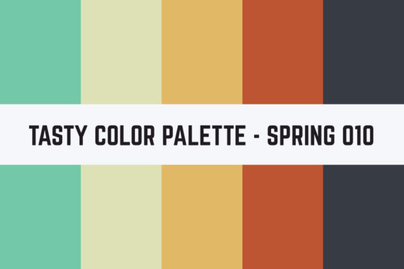 Print on Demand: Solids Tasty Color Palette Graphic Textures By TastyColorPalettes