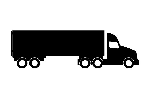 Print on Demand: Truck Icon Graphic Icons By marco.livolsi2014