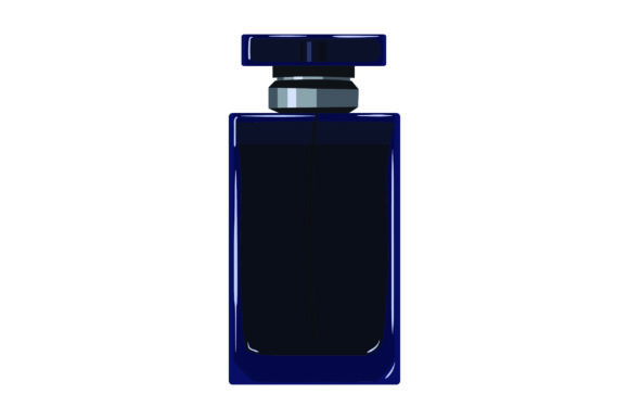 Download Free Blue Perfume Bottle Svg Cut File By Creative Fabrica Crafts SVG Cut Files