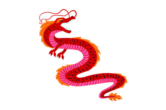 Download Free Japanese Dragon Svg Cut File By Creative Fabrica Crafts for Cricut Explore, Silhouette and other cutting machines.