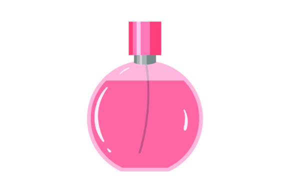 Pink Perfume Bottle Beauty & Fashion Craft Cut File By Creative Fabrica Crafts