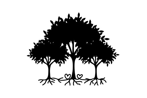Download Free Family Trees Svg Cut File By Creative Fabrica Crafts Creative for Cricut Explore, Silhouette and other cutting machines.