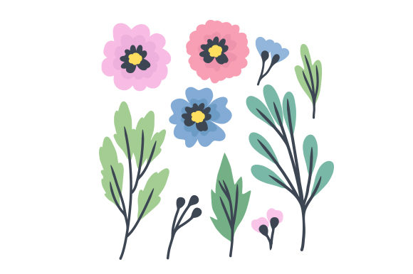 Download Free Floral Paper Svg Cut File By Creative Fabrica Crafts Creative for Cricut Explore, Silhouette and other cutting machines.