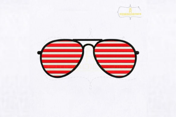 American Sunglasses Accessorios Diseños de bordado Por RoyalEmbroideries