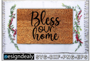 Print on Demand: Biess Our Home Graphic Crafts By Designdealy