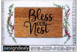 Print on Demand: Biess Our Nest Graphic Crafts By Designdealy