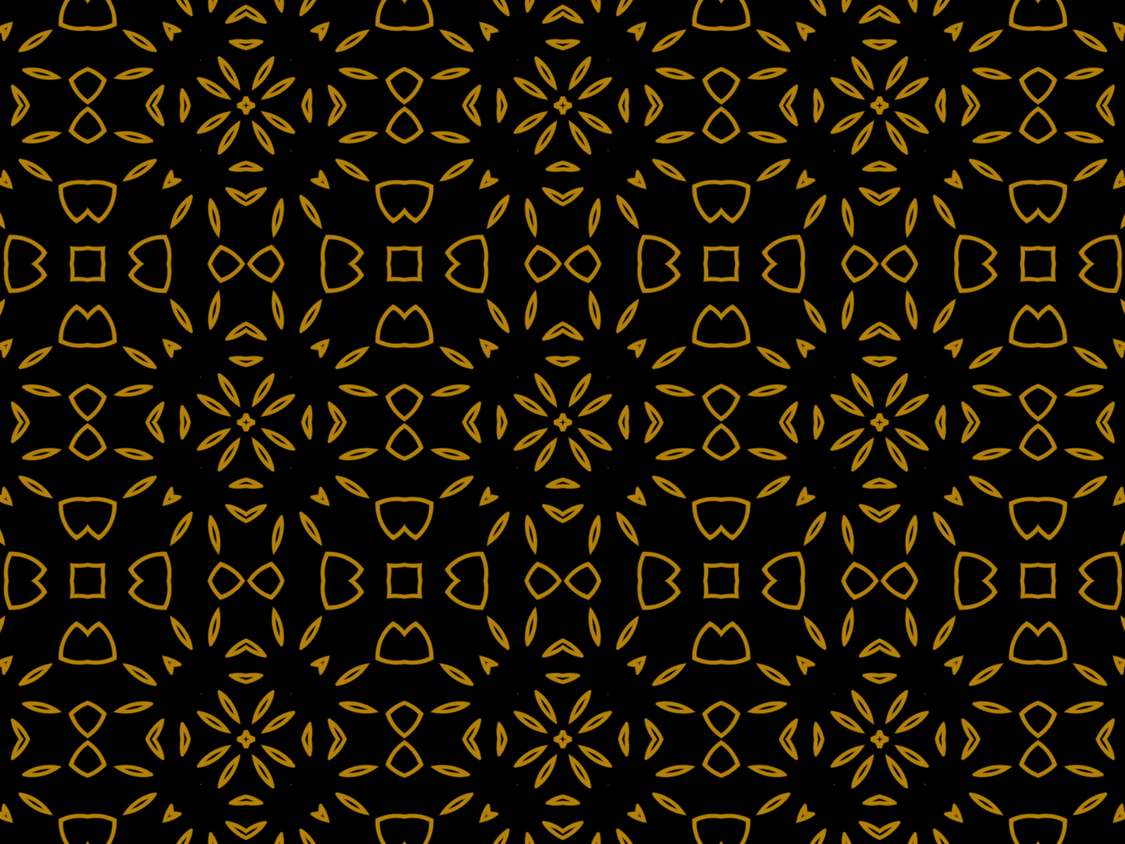 Black Gold Floral Background Pattern Graphic By Thisfishingclub
