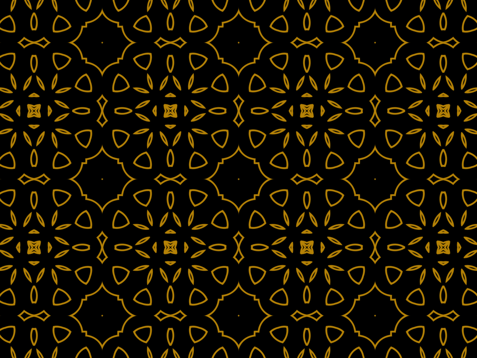 Download Free Black Gold Floral Kaleidoscope Look Graphic By Thisfishingclub SVG Cut Files