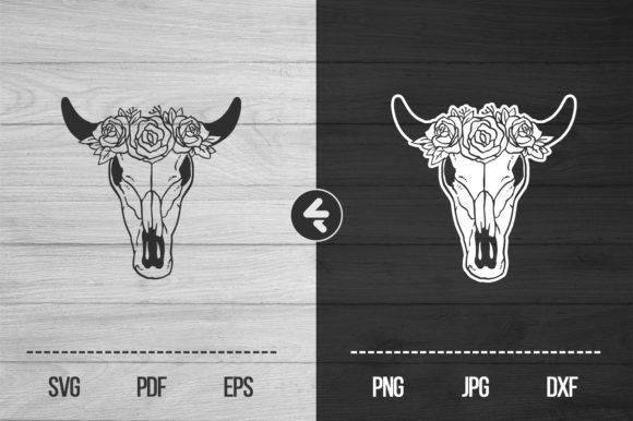 Download Free Deer Skull Graphic By Flocalliastore Creative Fabrica for Cricut Explore, Silhouette and other cutting machines.
