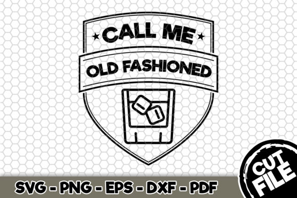 Download Free Call Me Old Fashioned Graphic By Svgexpress Creative Fabrica for Cricut Explore, Silhouette and other cutting machines.