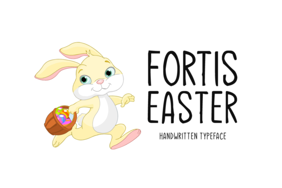 Print on Demand: Fortis Easter Display Font By Seemly Fonts