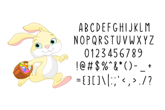 Download Free Fortis Easter Font By Seemly Fonts Creative Fabrica for Cricut Explore, Silhouette and other cutting machines.