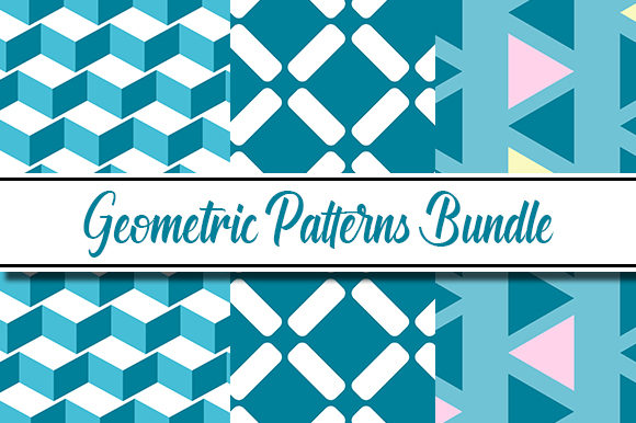 Print on Demand: Geometric Patterns Graphic Patterns By Masyafi Creative Studio