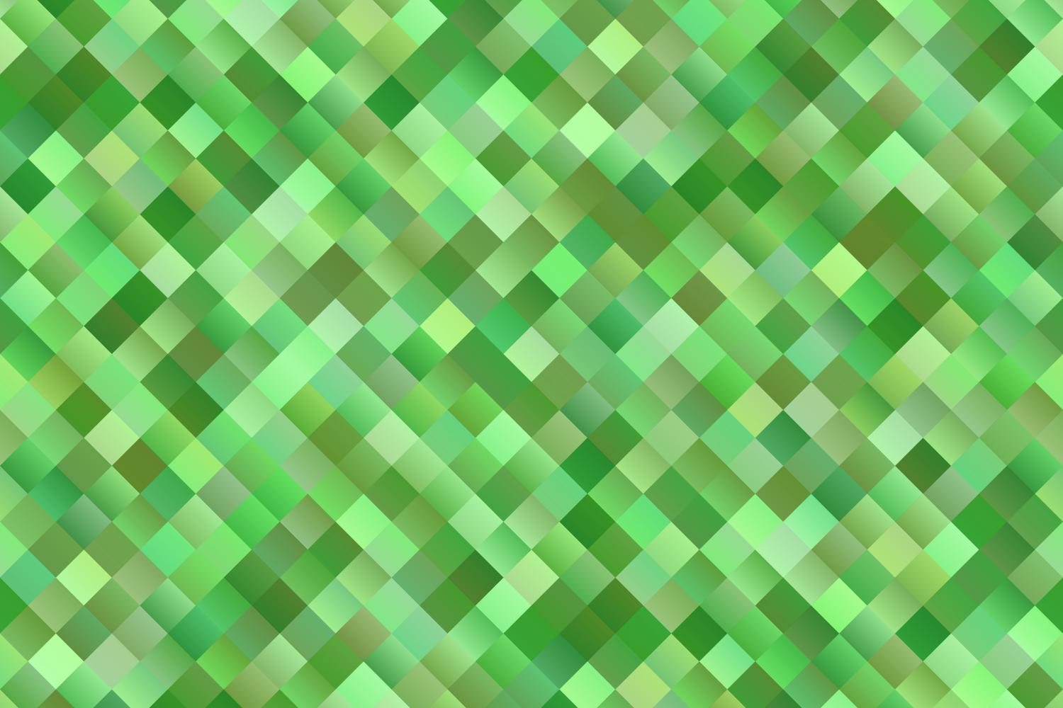 Download Free Green Seamless Gradient Square Pattern Graphic By Davidzydd for Cricut Explore, Silhouette and other cutting machines.