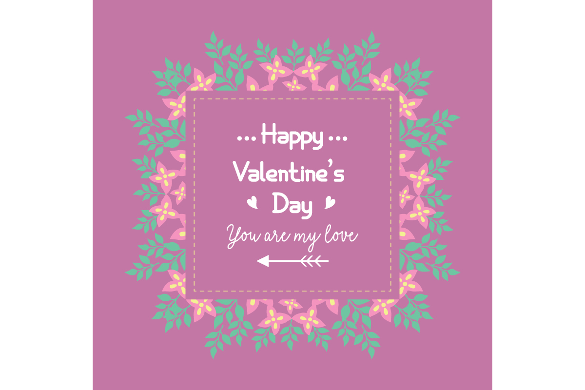 Happy Valentine Poster Design Graphic By Stockfloral Creative