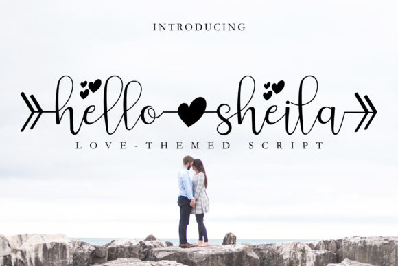 Print on Demand:  Hello Sheila Script & Handwritten Font By airotype