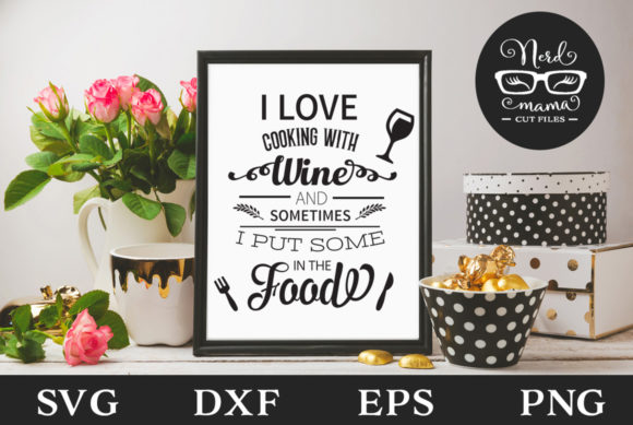 Download I Love Cooking Cut File