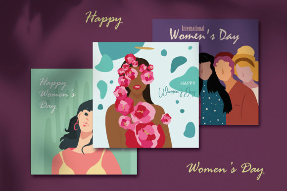 Print on Demand: International Women's Day Graphic Illustrations By jann