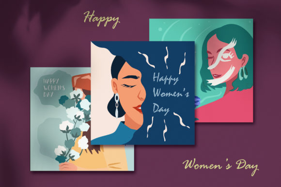 Print on Demand: International Women's Day Gráfico Ilustraciones Por jannta