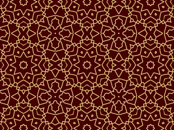 Print on Demand: Islamic Graphic Patterns By bruxcreative