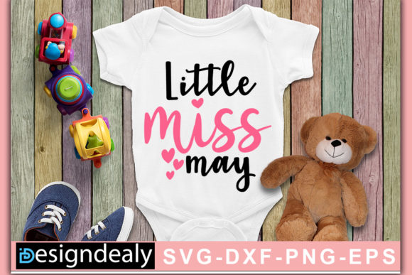 Print on Demand: Little Miss May Graphic Crafts By Designdealy.com