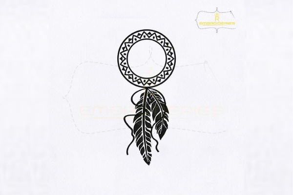 Download Free Monogram Dream Catcher Creative Fabrica for Cricut Explore, Silhouette and other cutting machines.