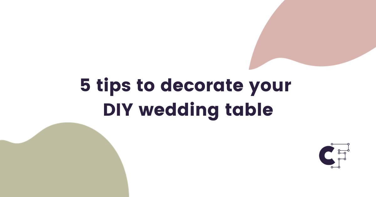 Download Free 5 Tips To Decorate Your Diy Wedding Table Creative Fabrica for Cricut Explore, Silhouette and other cutting machines.