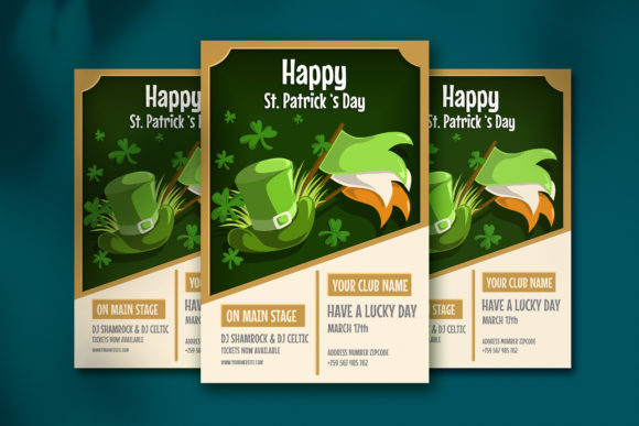 Saint Patrick S Day Poster Graphic By Jannta Creative Fabrica