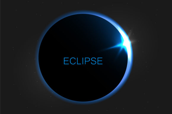 Solar Eclipse. Eclipse of the Sun Graphic Objects By gee-00