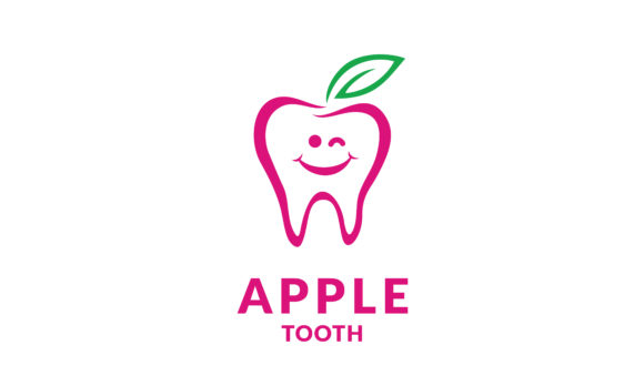 Download Free Teeth Tooth Dental Dentist Fruit Logo Graphic By Enola99d for Cricut Explore, Silhouette and other cutting machines.