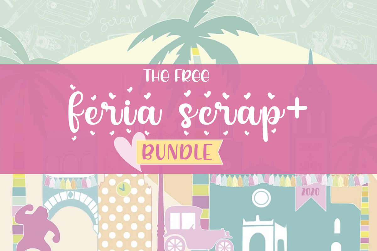 Download Free The Free Feria Scrap Bundle Bundle Creative Fabrica for Cricut Explore, Silhouette and other cutting machines.