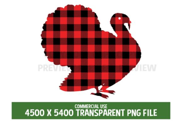 Download Free Turkey Thanksgiving Red Plaid Clipart Graphic By Sunandmoon for Cricut Explore, Silhouette and other cutting machines.