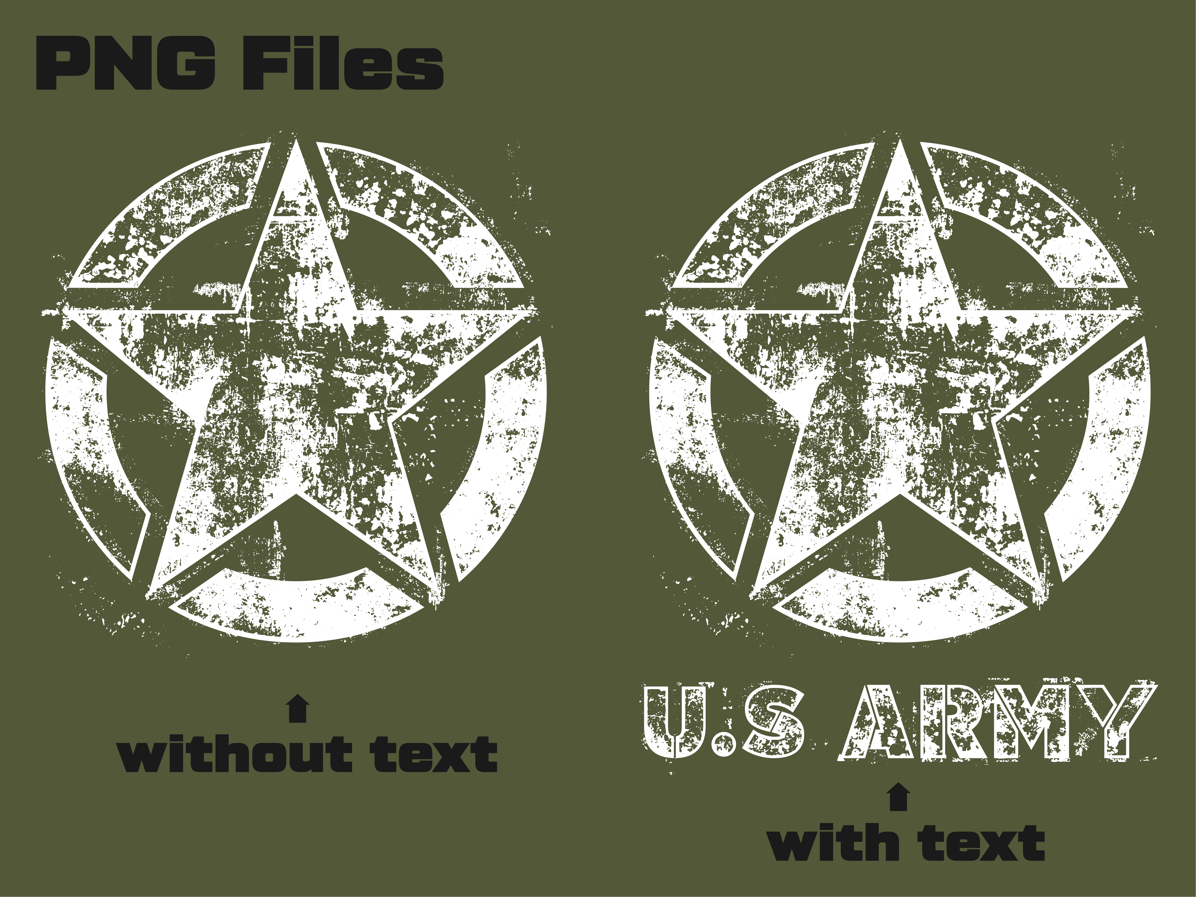 Download Free Us Army Star Grunge Grafik Von Davgogoladze Creative Fabrica for Cricut Explore, Silhouette and other cutting machines.