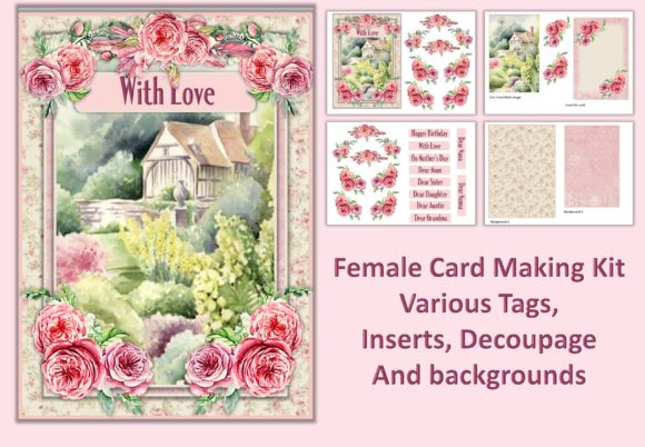 Download Free Shabby Chic Backgrounds And Ephemera Graphic By Digitalcraftsco for Cricut Explore, Silhouette and other cutting machines.
