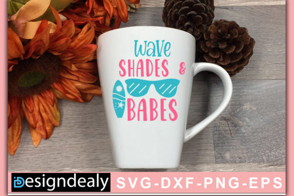 Print on Demand: Wave Shades and Babes Graphic Crafts By Designdealy.com