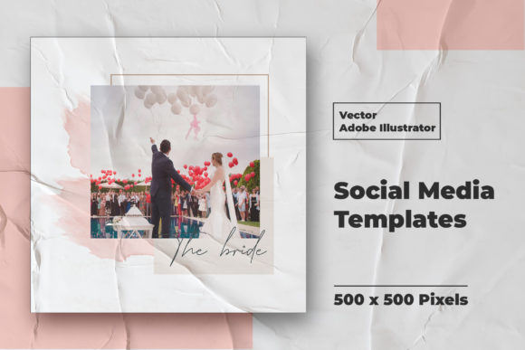 Download Free Wedding Instagram Feed Vector Graphic By Qohhaarqhaz Creative for Cricut Explore, Silhouette and other cutting machines.