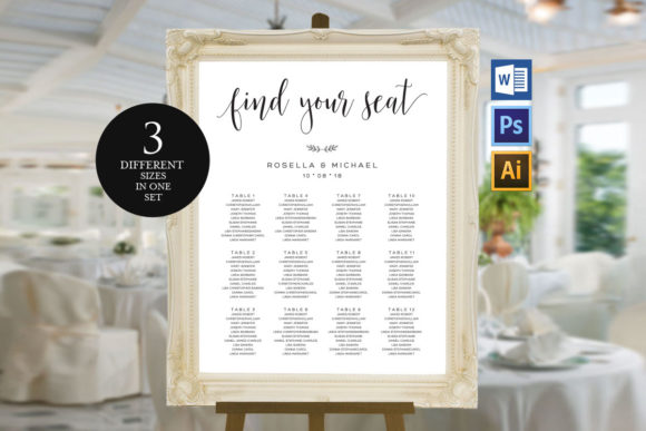 Download Free Wedding Door Hanger Shr21 Graphic By Weddingprintables for Cricut Explore, Silhouette and other cutting machines.