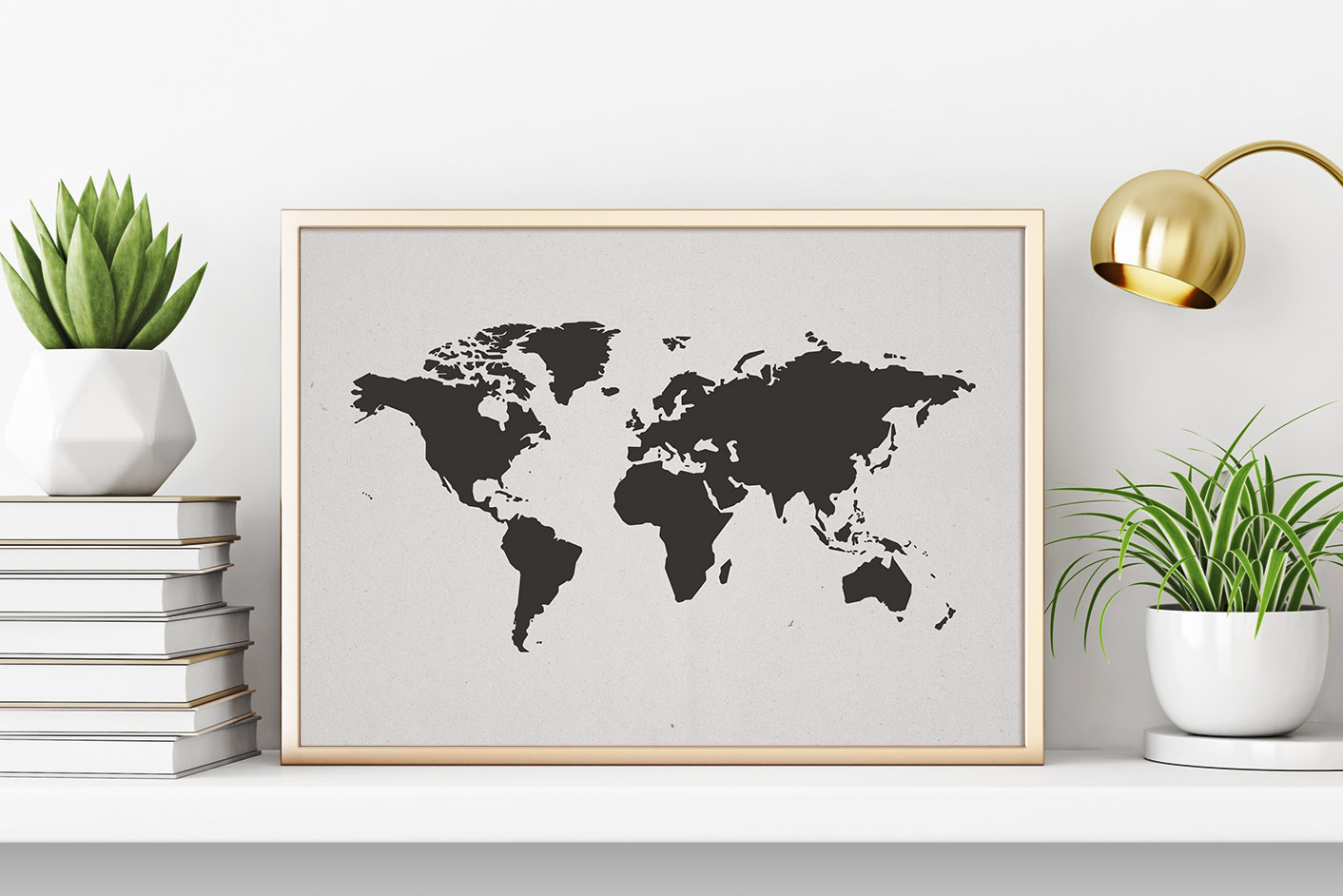 Download Free World Map Vector Svg Graphic By Flocalliastore Creative Fabrica for Cricut Explore, Silhouette and other cutting machines.