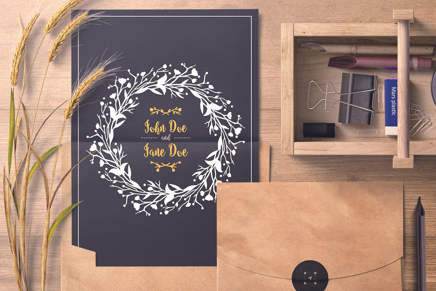 Download Free Wreath Graphic By Flocalliastore Creative Fabrica for Cricut Explore, Silhouette and other cutting machines.