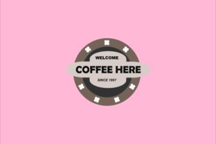 Welcome Banner Vector Template - Coffee Here #8 Graphic Objects By tunasbangsa.project