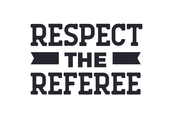 Download Free Respect The Referee Svg Cut File By Creative Fabrica Crafts for Cricut Explore, Silhouette and other cutting machines.