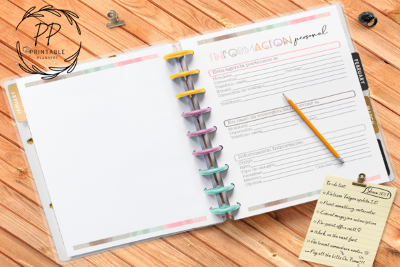 Print on Demand: 2020-2021 Teachers Planner Graphic Teaching Materials By Printable Planners - Image 1