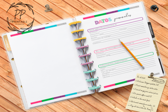 Print on Demand: 2020-2021 Teachers Planner Spanish Graphic Teaching Materials By Printable Planners
