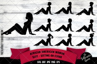 Download Free African American Sexy Woman Graphic By Thesilhouettequeenshop for Cricut Explore, Silhouette and other cutting machines.
