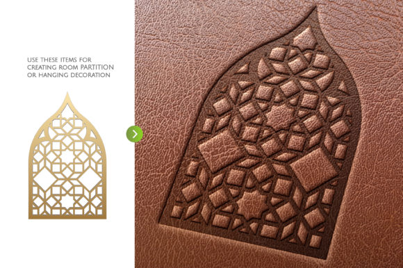 Download Free Arch Window Islam Art Graphic By Artvectorstrore Creative Fabrica for Cricut Explore, Silhouette and other cutting machines.