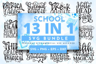 Print on Demand: Back to School Bundle Graphic Crafts By OrinDesign