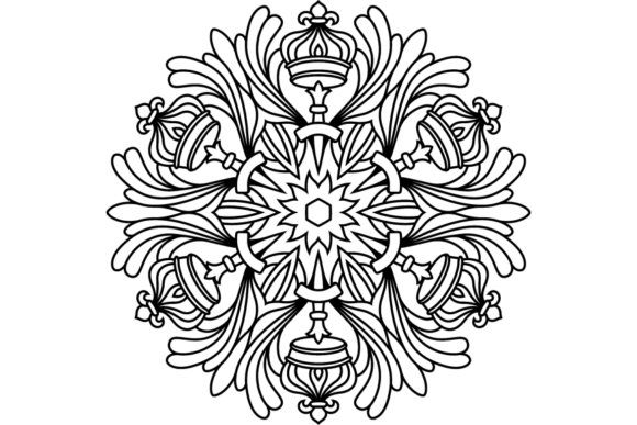 Print on Demand: Beautiful Mandala Design 275 Graphic Coloring Pages & Books Adults By ermannofficial